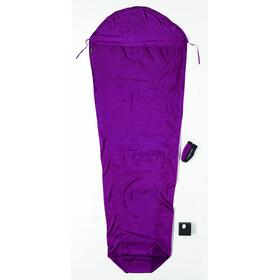 Cocoon MummyLiner Slaapzak isolatie Silk violet